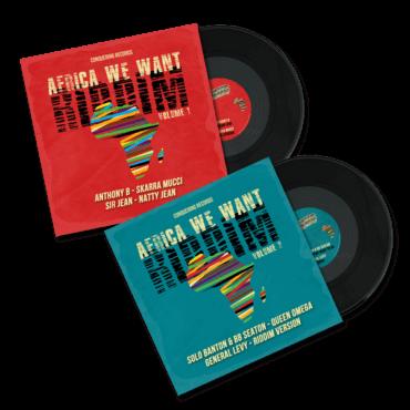 Double vinyles AFRICA WE WANT RIDDIM